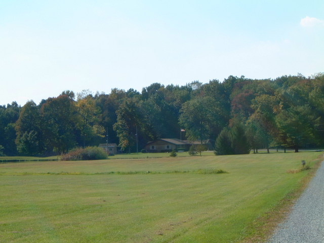 View of the grounds from a distance.